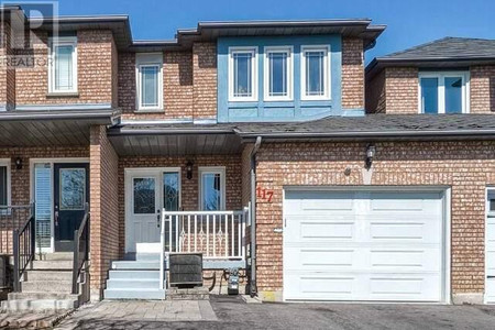 117 Black Oak Dr N in Brampton - Townhouse For Sale : MLS# w5183165