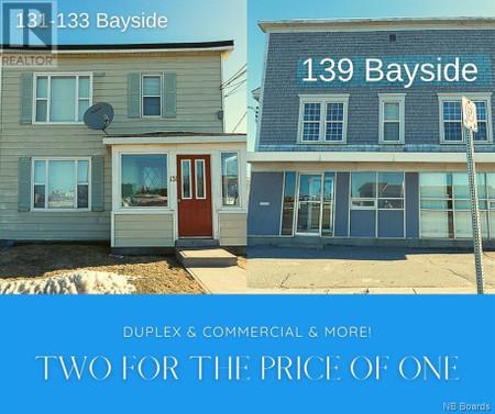 131 133 Amp 139 Bayside Drive, Saint John
