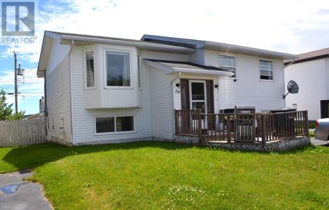 29 Bellevue Crescent, St John S, Newfoundland, A1E5T5