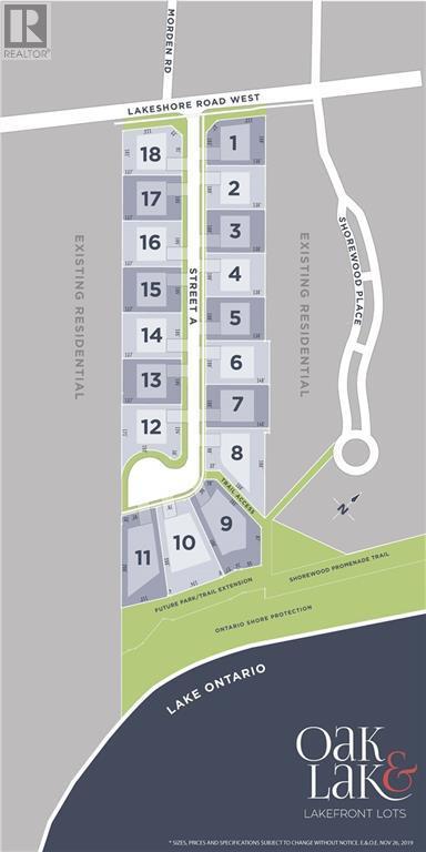 346 362 Lakeshore Road W Unit Lot 11, Oakville, Ontario, L6K1G1