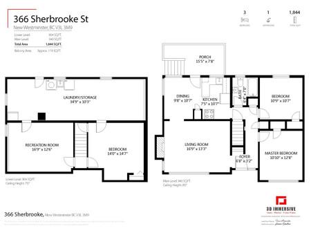 366 Sherbrooke Street, New Westminster, British Columbia, V3L3M9