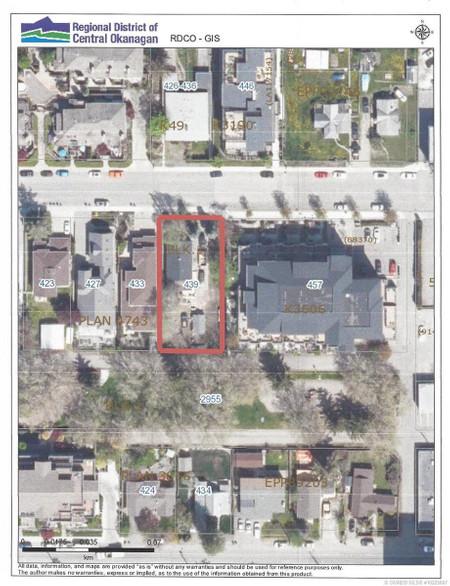 439 West Avenue in Kelowna - House For Sale : MLS# 10225887