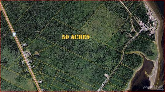 50 Acres Sandy Pt Rd Ch Pointe Aux Sable, Miramichi, New Brunswick, E9A1J4