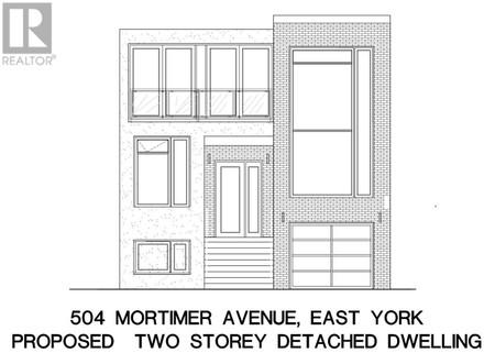 504 Mortimer Ave in Toronto, ON : MLS# e5219434