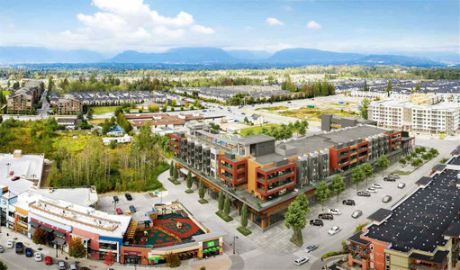 A 215 20727 Willoughby Town Centre in Langley, BC : MLS# r2580077