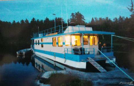 Nw Ontario Full Turnkey Consistently Profitable 9 Custom Built Quality Houseboats Painted 2020 Other